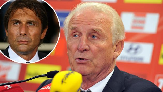"Trapattoni lobt Contes Abgang: ""Es ist besser"" (Bild: GEPA)"