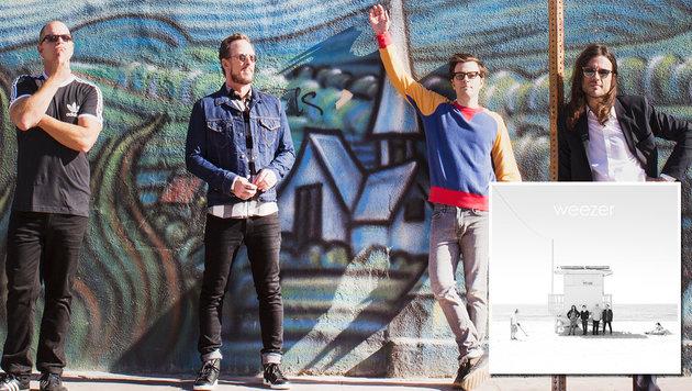 Weezer kehren zu ihren 90er-Wurzeln zurück (Bild: Warner Music)
