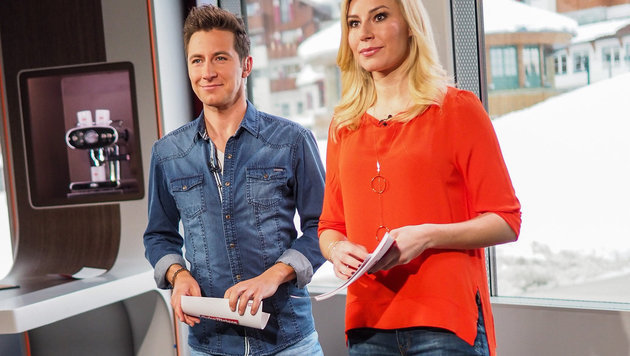"""So startete der ORF sein Früh-TV """"zum Angreifen"""" (Bild: ORF)"""