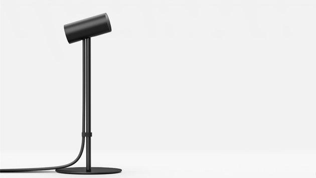 Die Tracking-Kamera wird am Schreibtisch platziert und erfasst die Kopfbewegungen des Nutzers. (Bild: Oculus VR)
