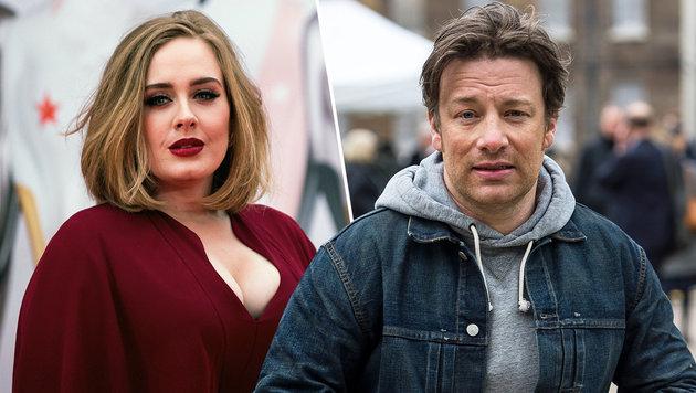 """Adele giftet gegen Jamie Oliver: """"Fuck yourself!"""" (Bild: APA/EPA/ANDREW COWIE, Viennareport)"""