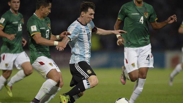 Argentinien im Aufwind - Brasilien schwächelt (Bild: APA/AFP/EITAN ABRAMOVICH)