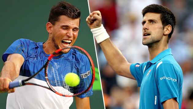 "Djokovic ""warnt"" Thiem: ""Tu mir das nie wieder an"" (Bild: AFP)"