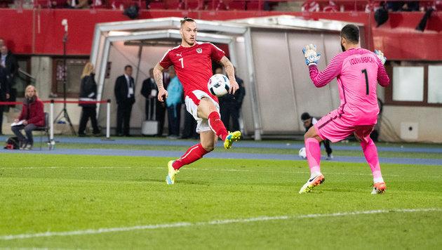 Fürchterlicher Patzer beschert ÖFB-Team 1:2-Pleite (Bild: Andreas Graf)