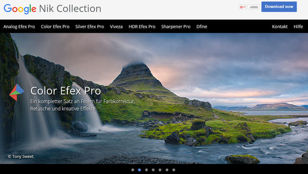 "Google verschenkt Foto-Software ""Nik Collection"" (Bild: Google)"