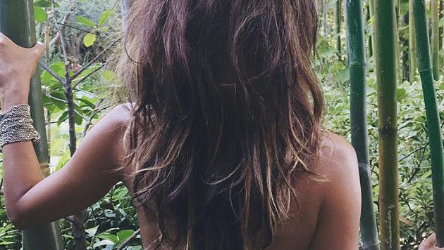 Mit diesem Foto feiert Halle Berry ihr Instagram-Debüt. (Bild: instagram.com/halleberry)
