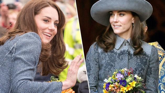 Kate im Visier der britischen Presse (Bild: AP)