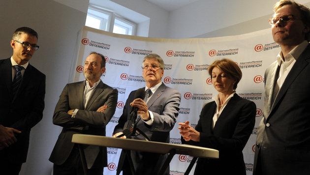 Mobilfunker investieren 150 Mio. Euro in Breitband (Bild: APA/HERBERT PFARRHOFER)