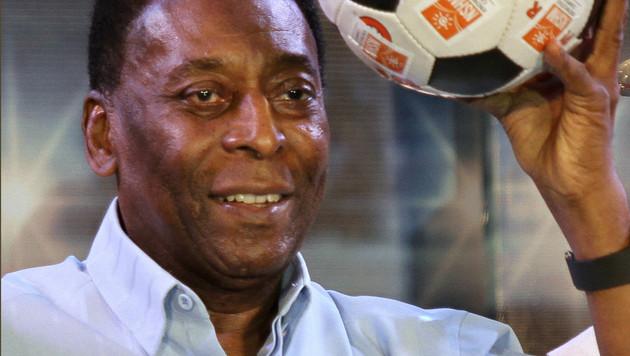 Pelé verklagt Samsung auf 30 Millionen Dollar (Bild: AP)