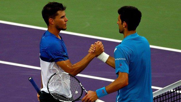 Super-Thiem verlangte Djokovic alles ab! (Bild: 2016 Getty Images)