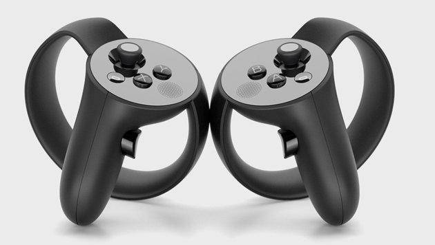 Der Bewegungs-Controller für die Oculus Rift erscheint erst im Herbst. (Bild: Oculus VR)