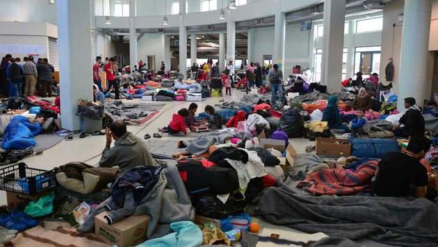 "Griechenland nimmt ""nur wenige"" Dublin-Asylwerber (Bild: AFP)"