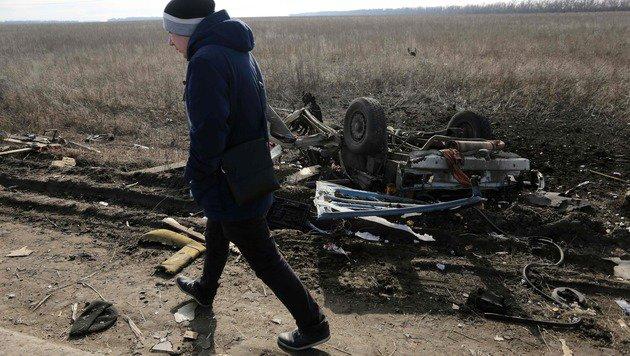 Brüchiger Waffenstillstand: Erst in der Vorwoche kamen ukrainische Soldaten bei Gefechten ums Leben. (Bild: AFP or licensors)