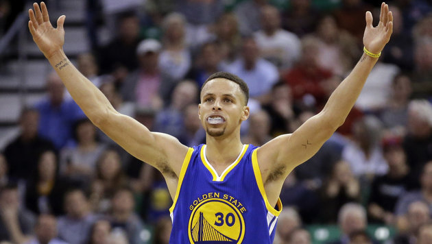 Stephen Curry (Bild: ASSOCIATED PRESS)