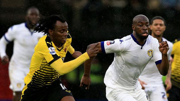 Souleymane Doukara (rechts im Bild) (Bild: AP)