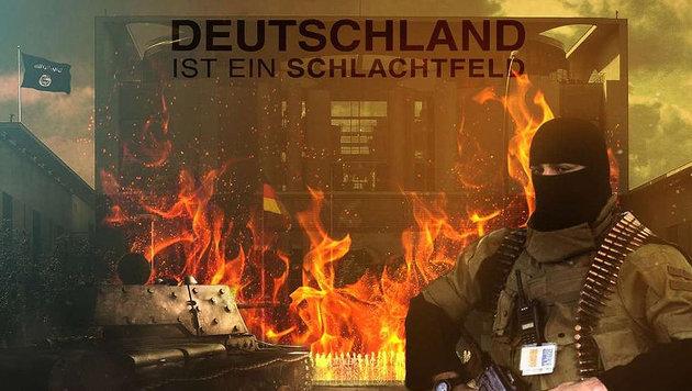 IS ruft zu Terroranschlägen in Deutschland auf (Bild: twitter.com/SITE)