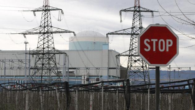 Störfall im Atommeiler Krško (Bild: Kronen Zeitung)