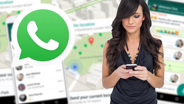 WhatsApp poliert Status mit Fotos und Videos auf (Bild: thinkstockphotos.de, Whatsapp)