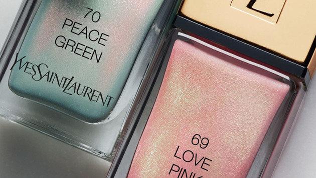 """""""We love Pastell! Die Frühlings-Make-ups sind da (Bild: YSL)"""""""