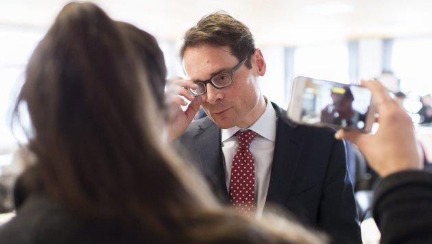 SVP-Politiker Roger Köppel (Bild: EPA)