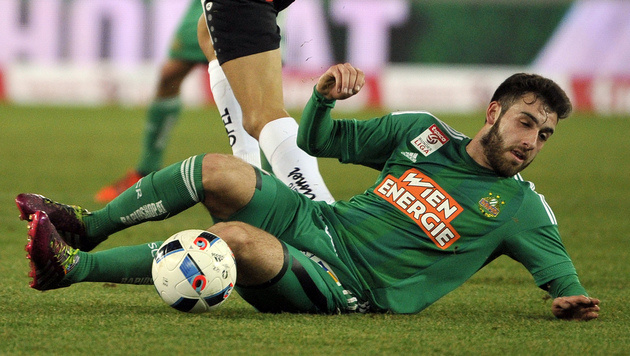 Ex-Rapidler Petsos beklagt Situation bei Bremen (Bild: APA/HANS PUNZ)