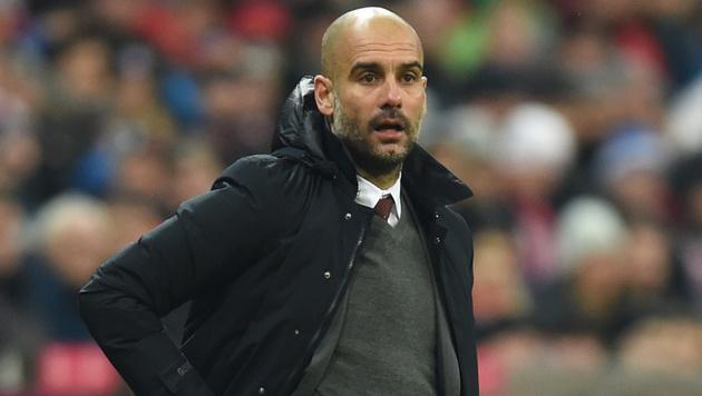 Pep Guardiola (Bild: AFP)