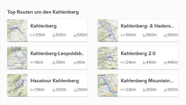 """""""Bikemap: Noch schöner und besser durch Wien radeln (Bild: bikemap.net)"""""""
