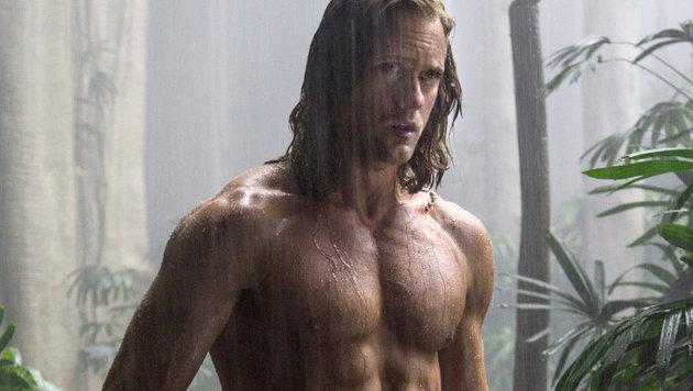 """Tarzan"" Alexander Skarsgard (Bild: Viennareport)"