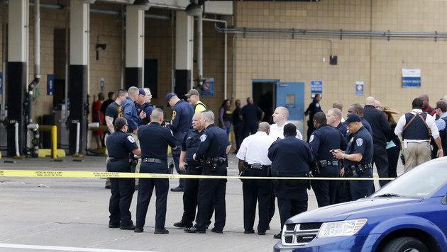 USA: Zwei Tote und zwei Verletzte bei Schießerei (Bild: AP)