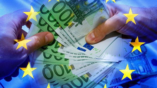 Bank will jedem Bürger in Eurozone 1300 € schenken (Bild: thinkstockphotos.de)