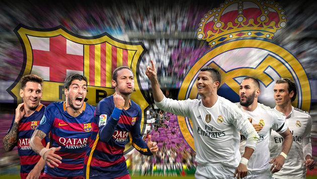 """Barcelona """"will Cruyff den Clasico-Sieg schenken"""" (Bild: GEPA)"""