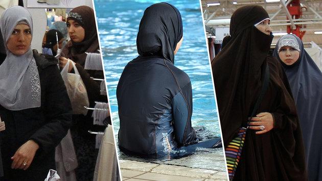 Frankreich: Nach Terror nun Streit um Islam-Mode (Bild: JOEL SAGET/AFP/picturedesk.com, dpa/A2070 Rolf Haid)
