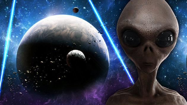 """Laser soll Erde für Aliens """"unsichtbar"""" machen (Bild: thinkstockphotos.de)"""