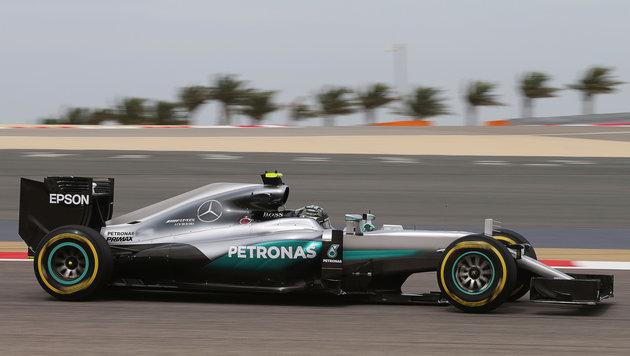 Nico Rosberg dominiert erste Bahrain-Trainings (Bild: GEPA)