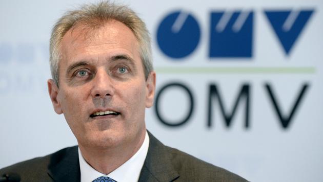 OMV-Chef Rainer Seele (Bild: APA/HANS KLAUS TECHT)