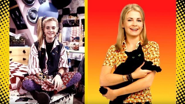 "Melissa Joan Hart in ""Clarissa"" (links) und ""Sabrina - Total verhext!"" (Bild: YouTube.com / FABLifeShow)"
