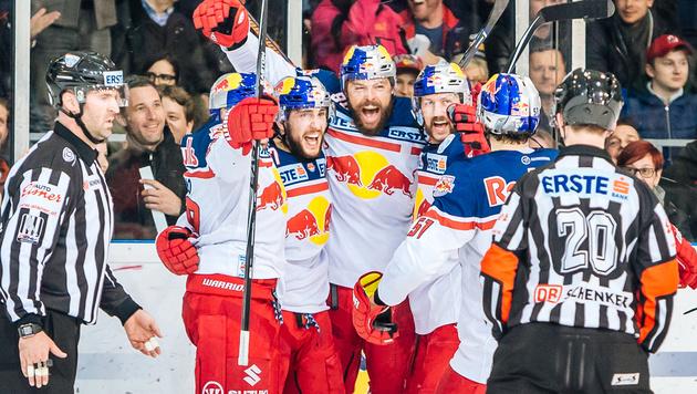 Salzburg startet mit Heimsieg ins EBEL-Finale (Bild: APA/EXPA/JFK)