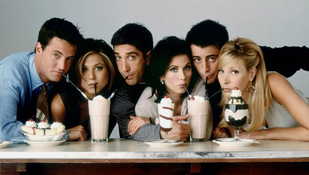 "Zehn Dinge, die echte ""Friends""-Fans wissen müssen (Bild: facebook.com/friends.tv)"