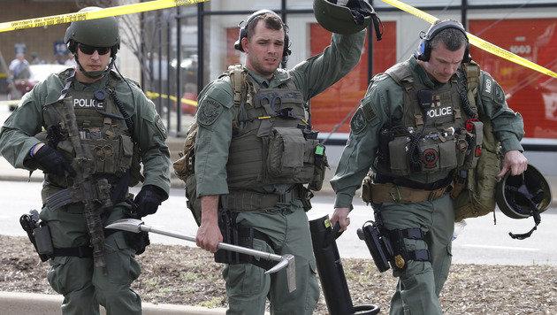 USA: Zwei Tote und zwei Verletzte bei Schießerei (Bild: Associated Press)