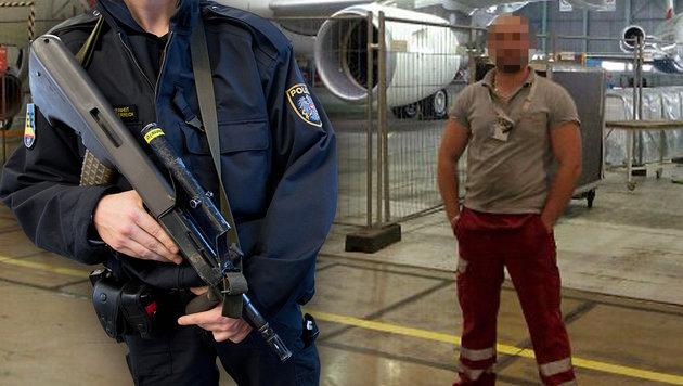 Airport-Techniker als IS-Sympathisant entlarvt (Bild: APA/GEORG HOCHMUTH, facebook.com)