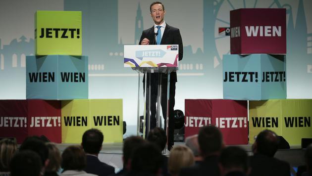 Blümel zum Obmann der Wiener ÖVP gewählt (Bild: APA/GEORG HOCHMUTH)