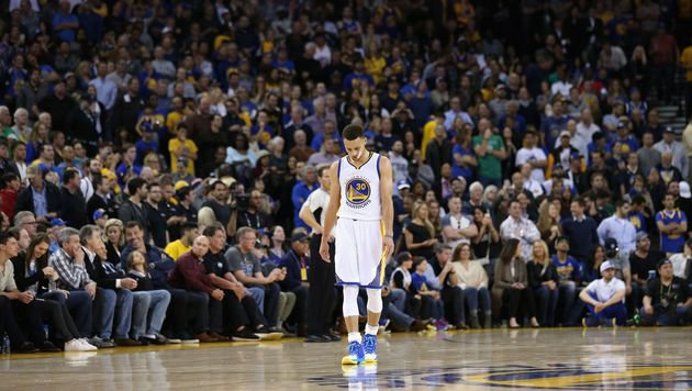 Stephen Curry (Bild: APA/AFP/GETTY IMAGES/EZRA SHAW)