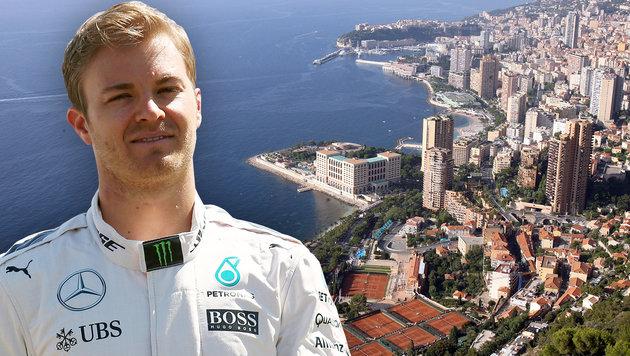 Heldentat! Nico Rosberg rettet Kind aus dem Meer (Bild: VALERY HACHE/AFP/picturedesk.com, GEPA)