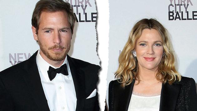 Ehe-Aus für Drew Barrymore und Will Kopelman (Bild: Associated Press)
