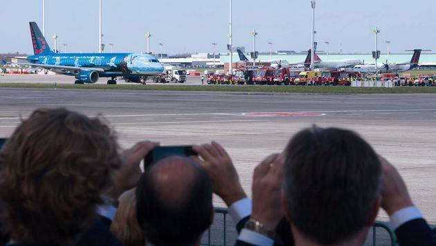 Flugbetrieb am Airport Br�ssel wieder aufgenommen (Bild: APA/AFP/BELGA/BENOIT DOPPAGNE)