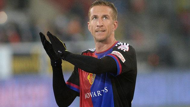 Janko gewinnt mit Basel Hit gegen Hütters YB Bern (Bild: GEPA)