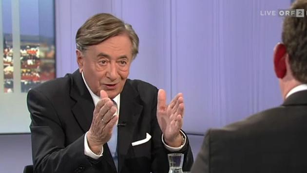 """Lugner: """"Rot-Schwarz bringt nichts mehr weiter"""" (Bild: ORF)"""
