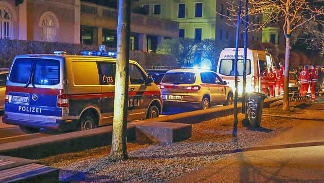 Betrunkene gingen in Salzach baden - gerettet (Bild: MARKUS TSCHEPP)
