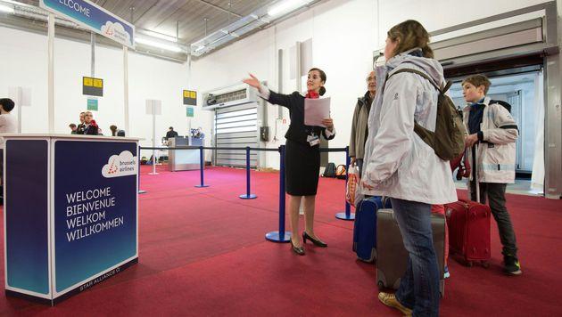 Flugbetrieb am Airport Br�ssel wieder aufgenommen (Bild: AFP or licensors)