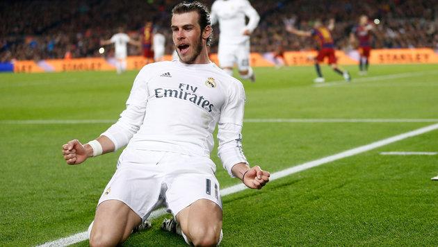 """Bale tobt nach Clasico: """"Konnte es nicht glauben!"""" (Bild: AP)"""
